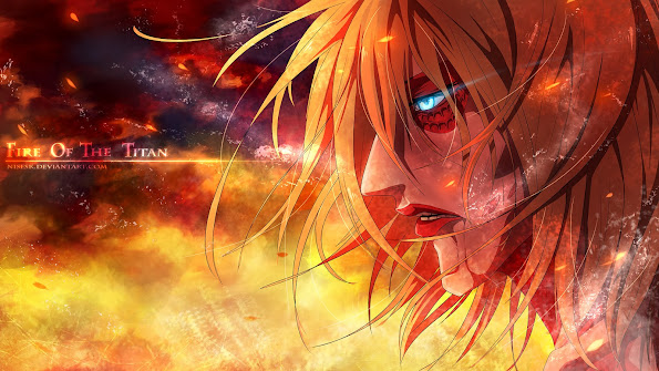 female titan annie leonhart attack on titan shingeki no kyojin