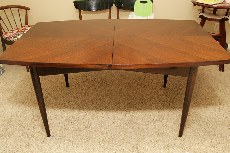 How to redo a dining room table