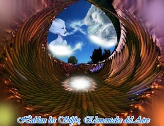 Nosotros los Elementales del Aire de Gaia, Sílfides o Silfos, venimos en este día a hablar con Uds.