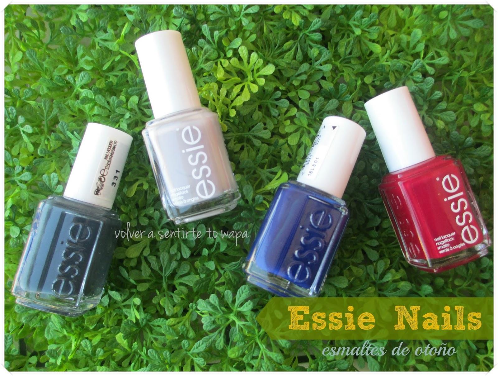 ESSIE Nails - otoño 2014