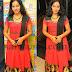 Malavika Menon Red Salwar