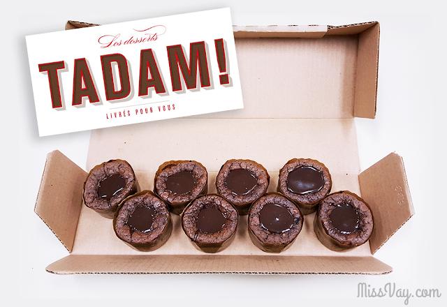 Fondants au chocolat Tadam! Martin Dessert
