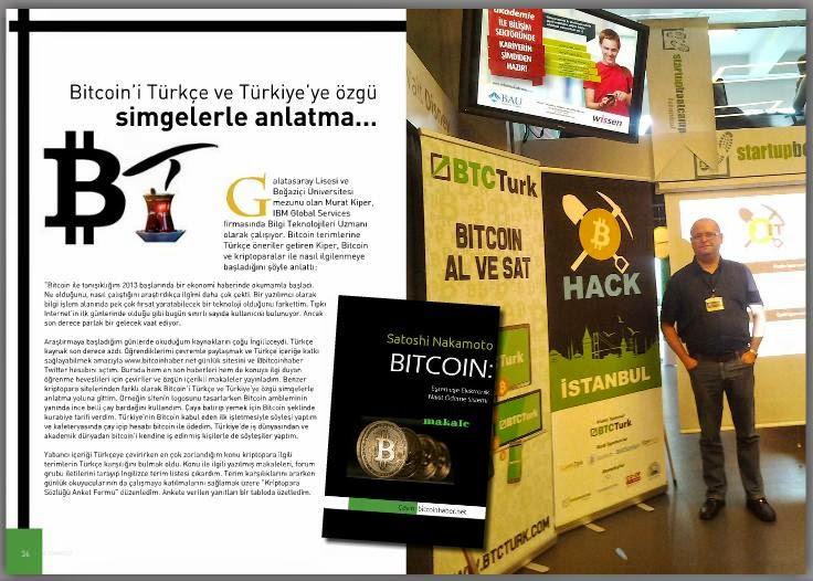 Türkçe Terimlerle Bitcoin