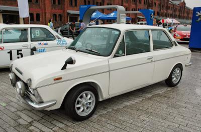 Subaru FF-1 G, Subaru SVX punto es