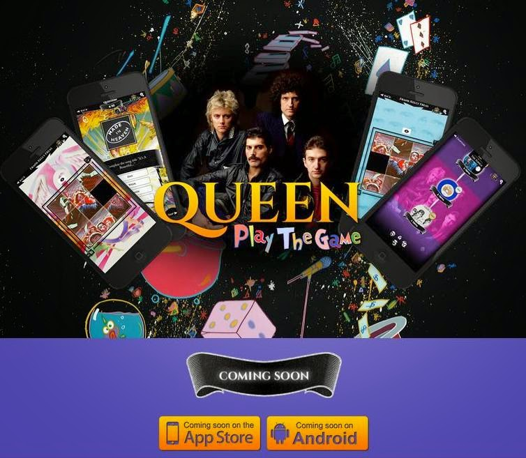 """Queen: Play The Game"" App"