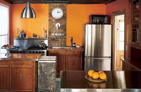 Cocinas decoracion y dise o de cocinas imagenes de for Cocina americana pequena moderna