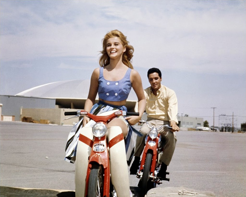 Ann Margret And Elvis Presley During The Filming Of Quot Viva