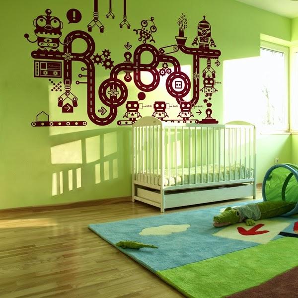 Papel pintado vinilos infantiles para paredes - Papel para habitaciones infantiles ...