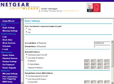 Image result for netgear router login images