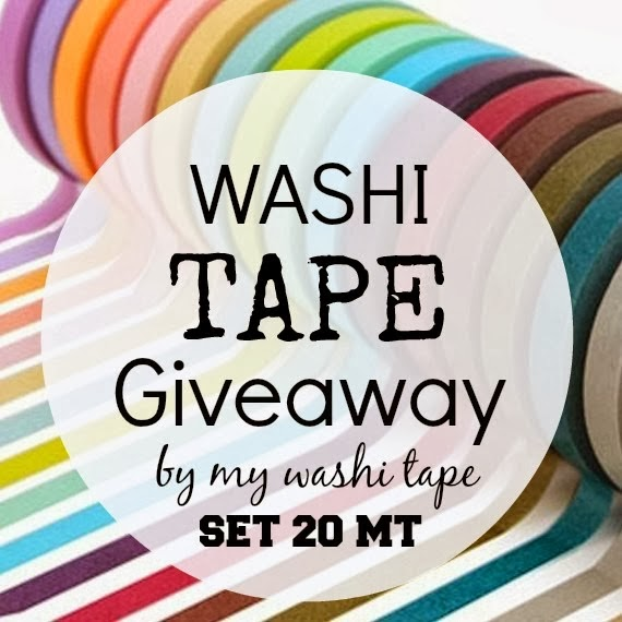 My washi tape GiveAway