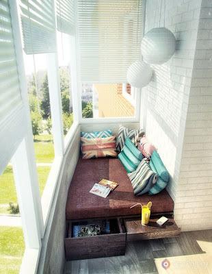 Contoh Desain Interior Balkon Modern