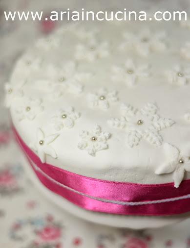 Blog di cucina di Aria: Torta Fiocco di Neve