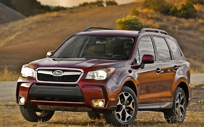 L.A. 2012: New Subaru Forester