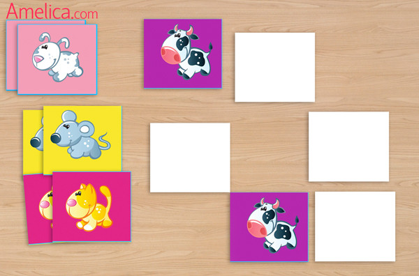 Картинки найди пару для детей 6 лет