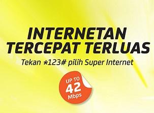 Tarif Baru Paket Internet Indosat Super Internet Unlimited