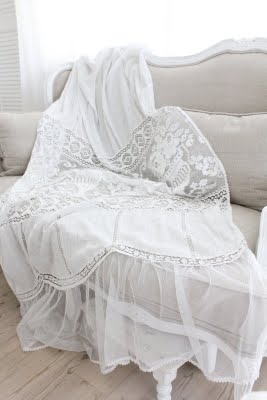 Cream life bianco - Copridivano stile provenzale ...