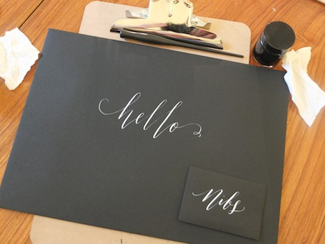 Ladybird likes : modern calligraphy workshop