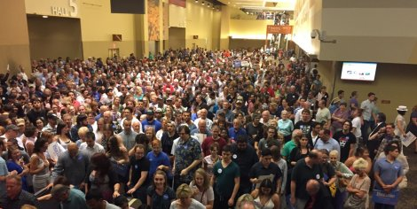 Bernie Sanders in Phoenix, Arizona