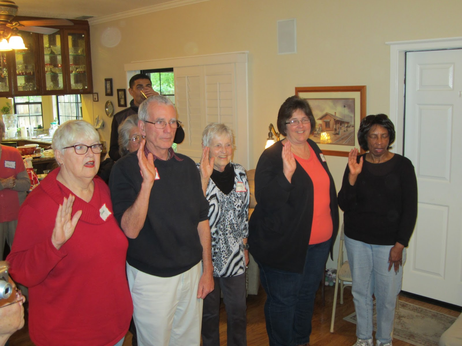 Bera Swears-in Elk Grove-South County Dem Club Officers, Comments on Recent Election