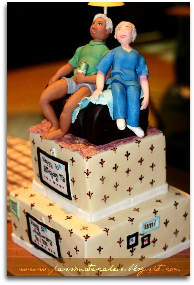Passionate Cakes 70th Birthday Bash And 36th Anniversary Cake