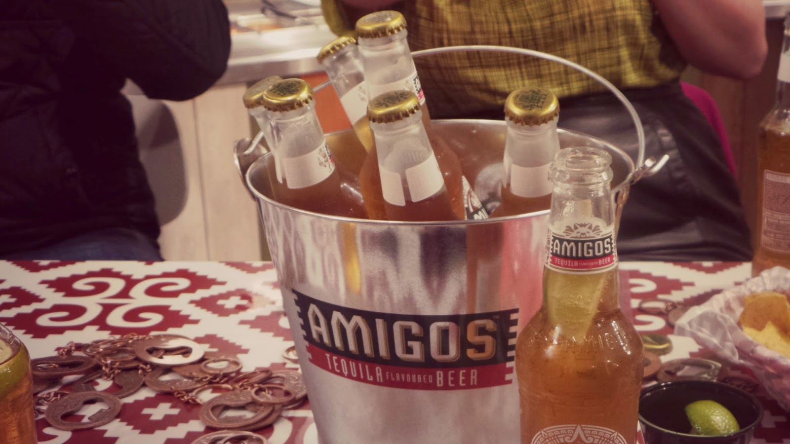 Amigos tequila beer