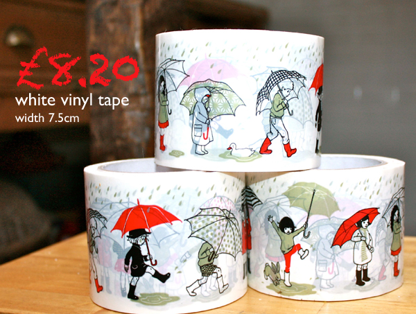Belle & Boo London Umbrella Parade Tape at Mrs Fox's