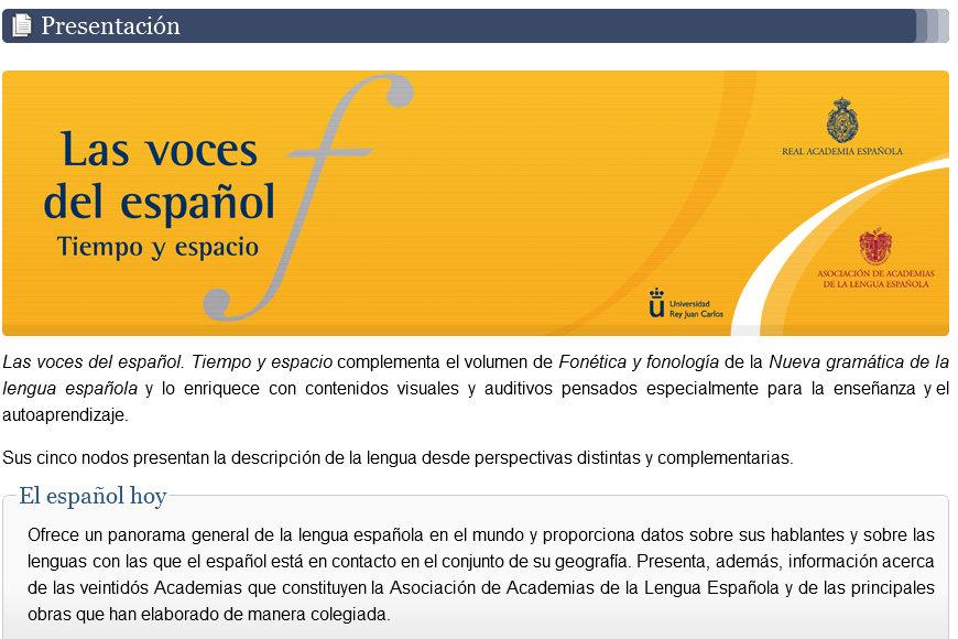 HISPANALIA. Español desde Puerto Rico: Las voces del