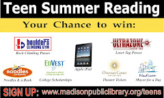 Madison Public Library     Teen Summer Reading