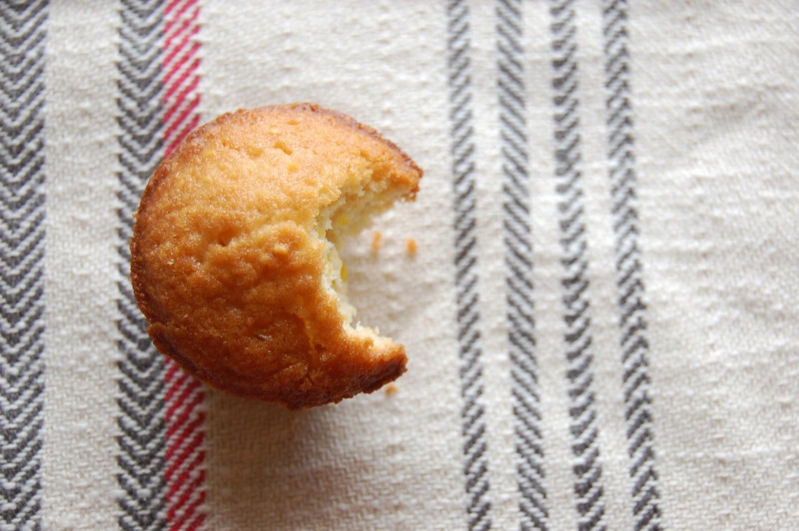 Mini Rosemary Cornbread Muffins
