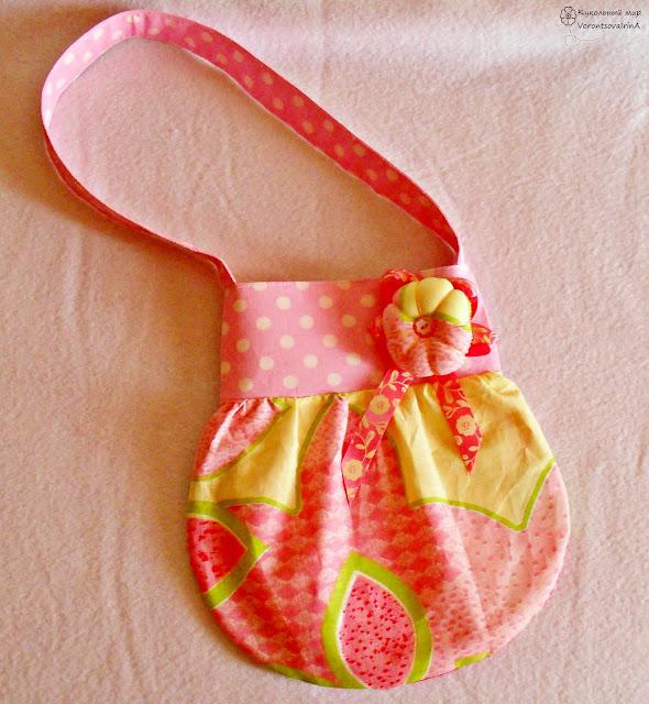 сумка в стиле тильда