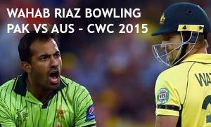 Wahab Riaz Bowling