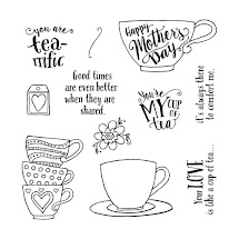 MARCH STAMP OF THE MONTH - TEA-RRIFIC