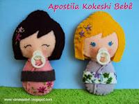 Apostila Kokeshi Bebê