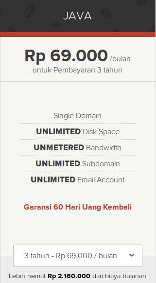 Unlimited Web Hosting Java