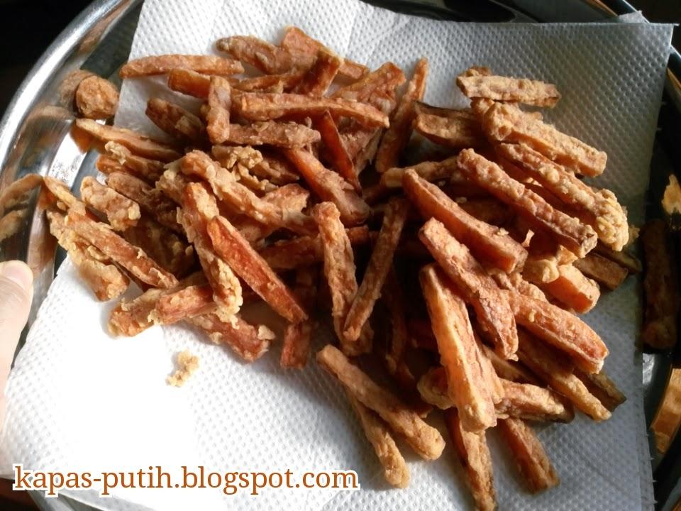 Resepi lobak merah goreng tepung : Carrot fries
