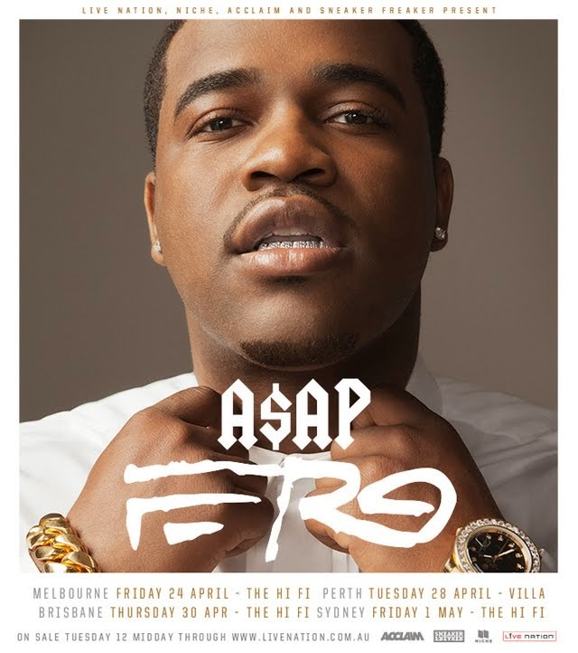 GIG NEWS: A$AP FERG ANNOUNCES GROOVIN THE MOO SIDESHOWS