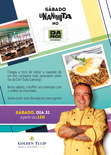 Final de semana Gastronômico no Da Noi