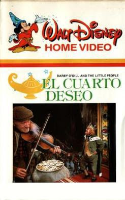 El cuarto deseo, Disney, Sean Connery, Robert Stevenson