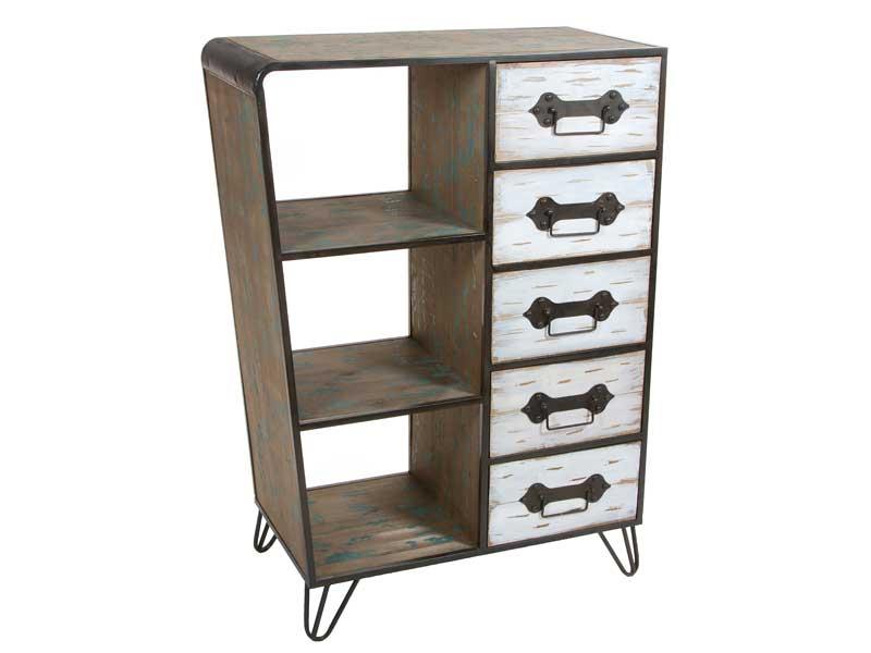 Muebles de forja muebles de madera y forja serie anlett for Muebles forja
