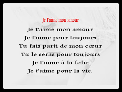 message d amour