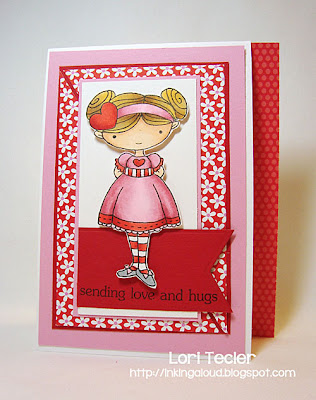 Sending Love and Hugs-designed by Lori Tecler-Inking Aloud-stamps from My Favorite Things