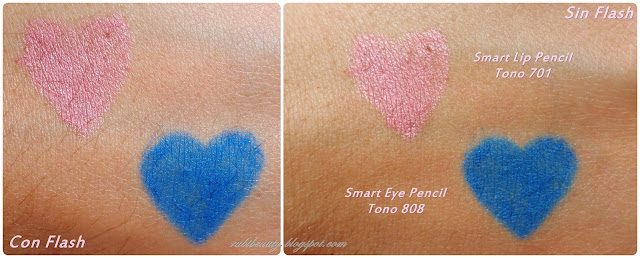 rubibeauty kiko cosmetics smart swatch ojos labios