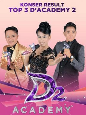 Danang banyuwangi, Evi masamba, Irwan sumenep dangdut academy season 2.