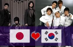 Jpop y Kpop