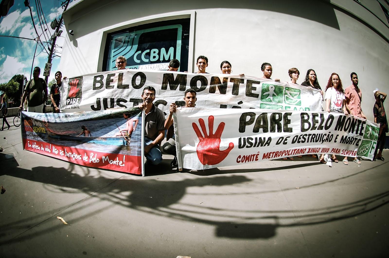 14/03/2013 -No Dia Internacional Contra as Barragens, movimentos denunciam os graves problemas com a construção da UHE Belo Monte