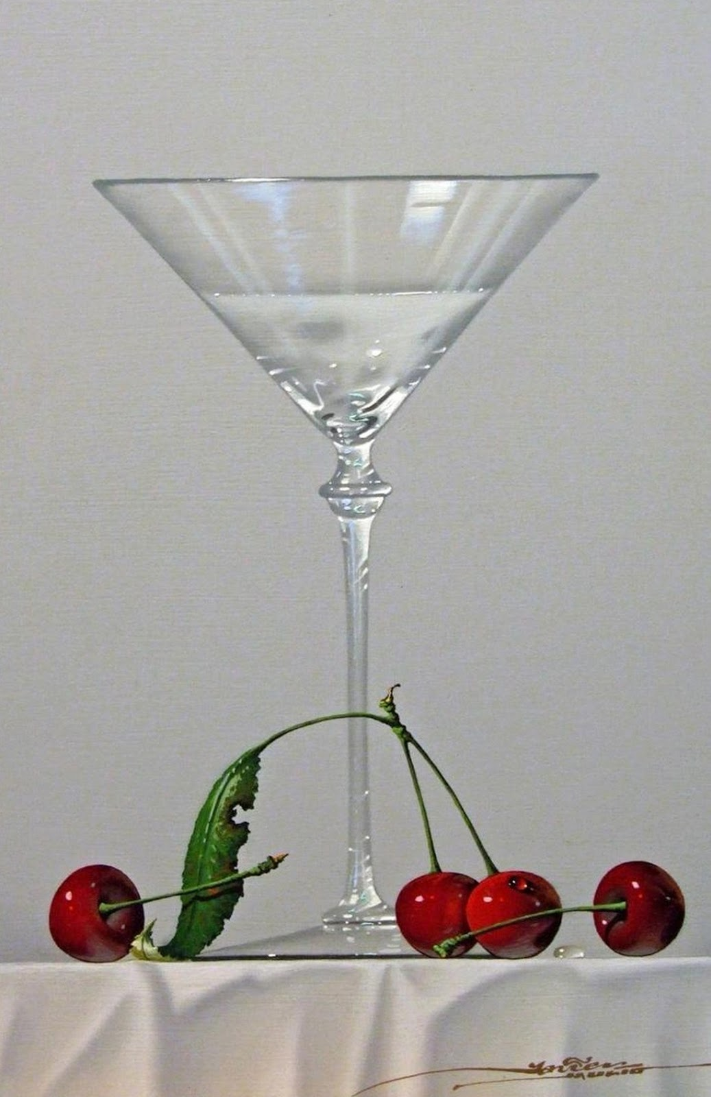Cuadros pinturas oleos cuadros de jarrones y copas de for Frutas de cristal