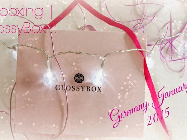 Unboxing | Glossybox Германия :: Януари 2015