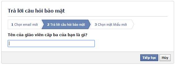 Phuc hoi nick Facebook bi HACK