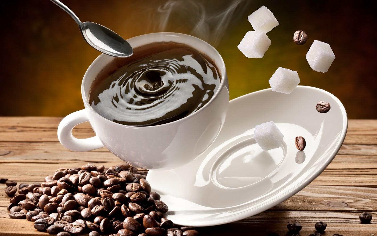 Falling Cup Coffee