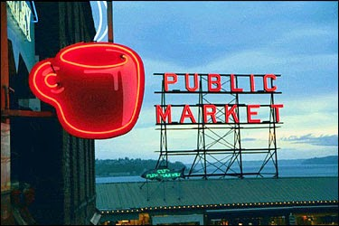 844068b79 Bon Vivant Peter Mayle at Pike Place Market